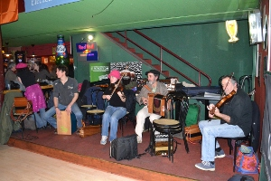 Danse trad au Red Lion